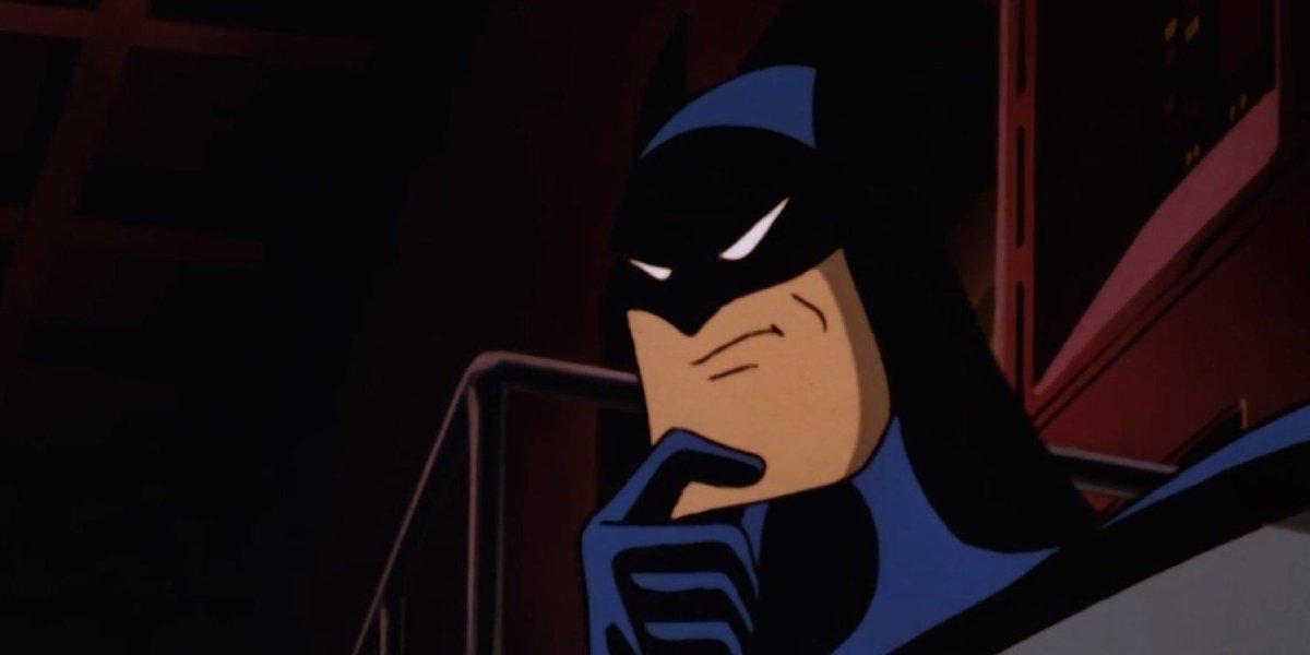 Kevin Conroy as batman on Batman: The Animated Series