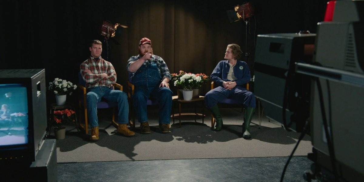 Jared Keeso, K. Trevor Wilson, and Nathan Dales on Letterkenny