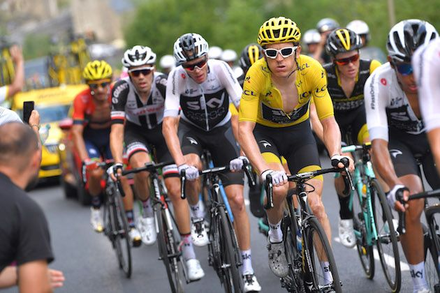 Chris Froome commits to support Geraint Thomas for Tour de France win after  struggling on stage 17 finish df170b023