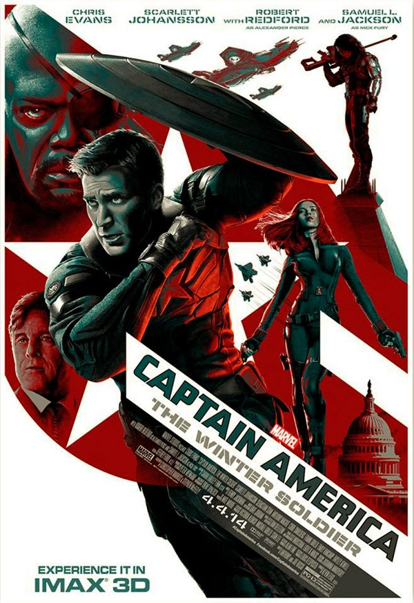 Captain America IMAX Poster