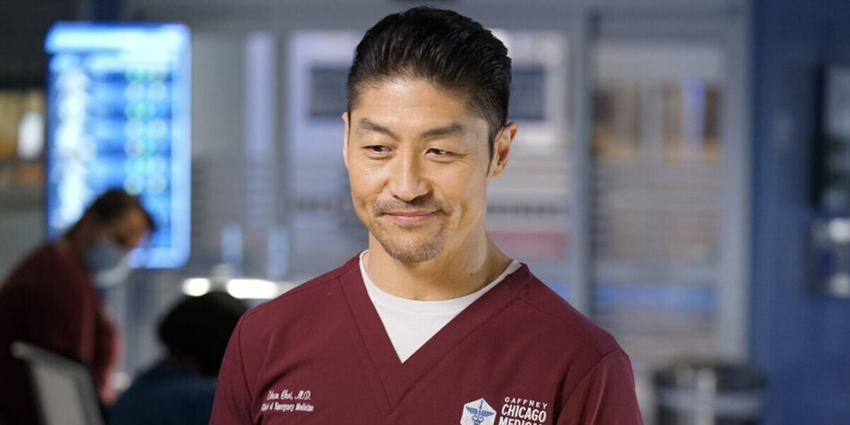 chicago med season 6 ethan smiling brian tee