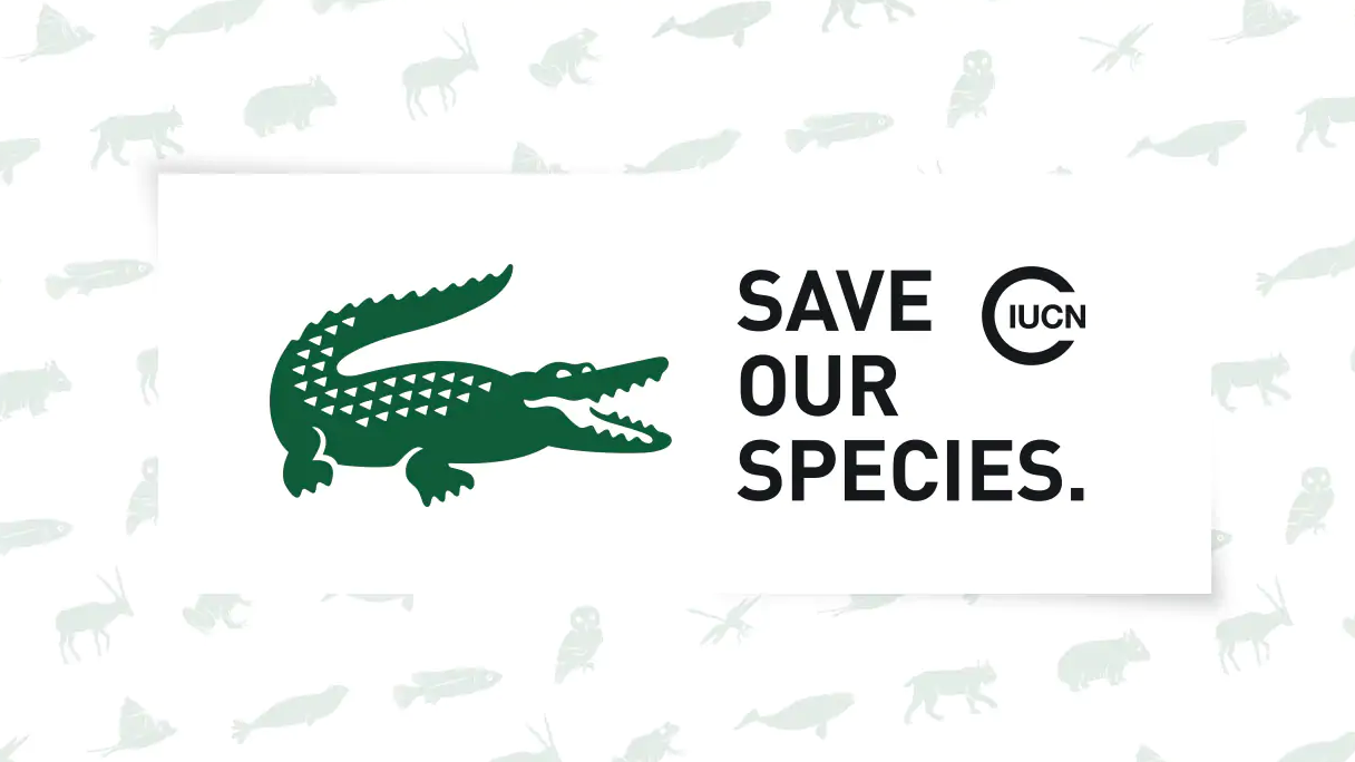 New Lacoste logos aim to save endangered animals | Creative Bloq