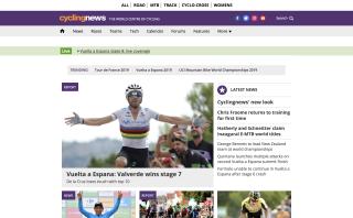 cyclingnews homepage