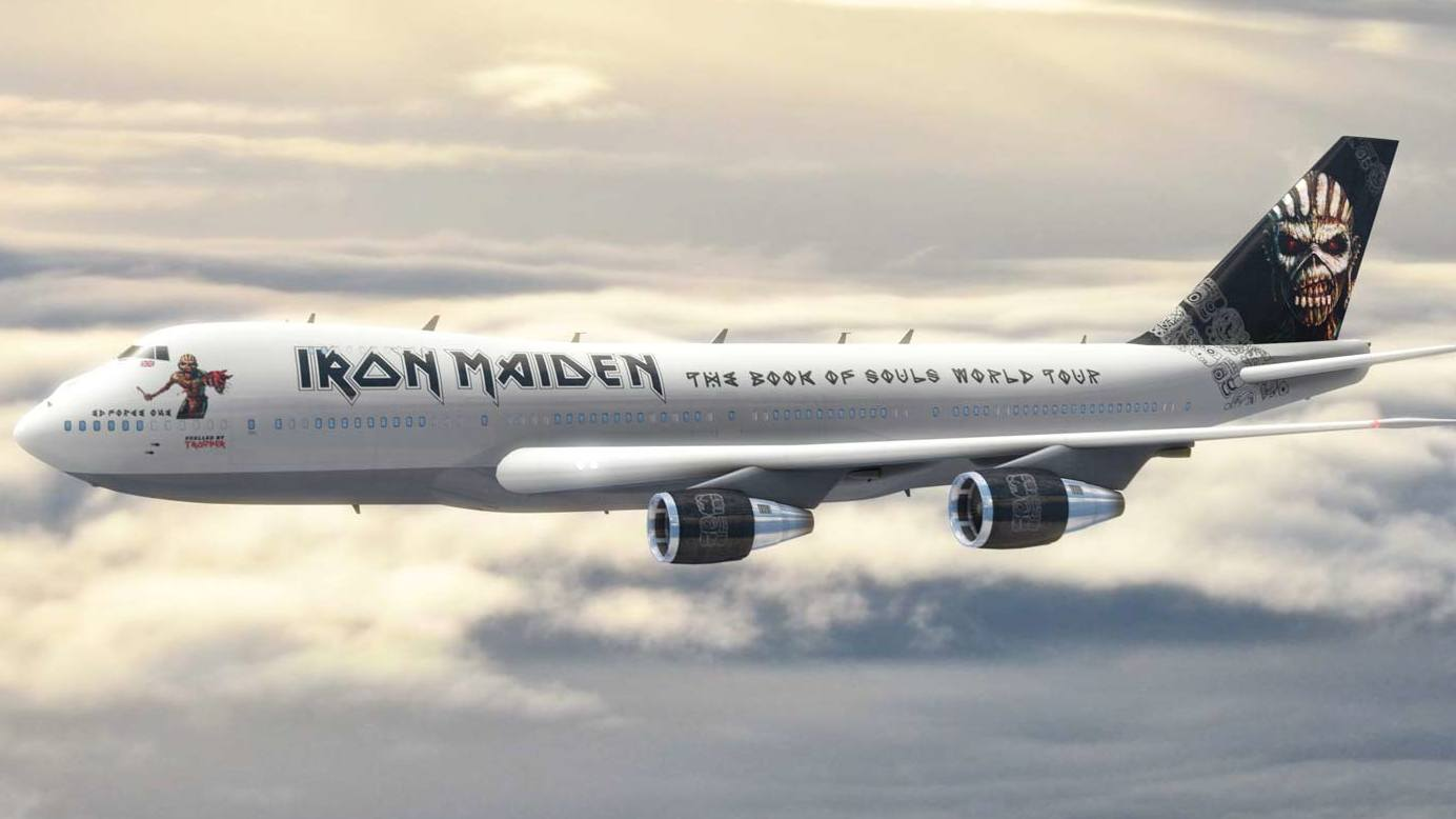 iron maiden's ed force one to be immortalised in model form | louder