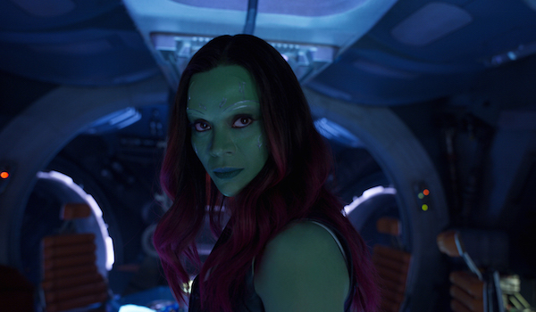 Gamora in Guardians of the Galaxy 2