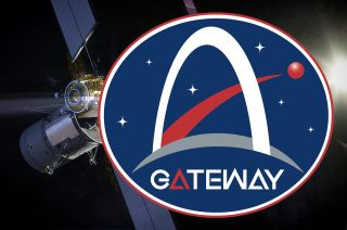 "NASA's Gateway program logo is ""a bold look closely aligned with the Artemis brand."""