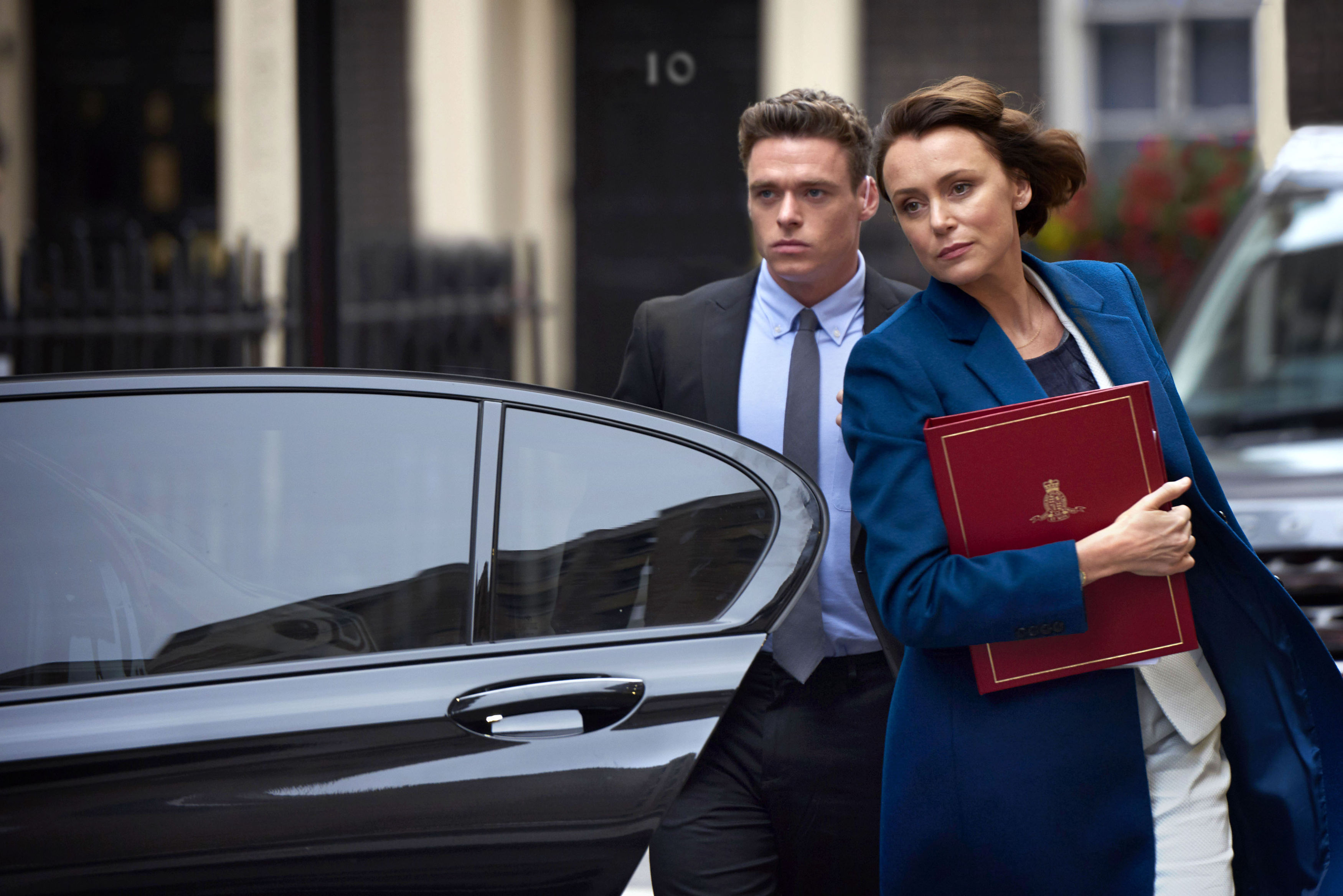 Keeley Hawes reveals the terrifying moment her son was caught up in a terror attack