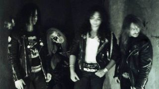 Euronymous, Dead, Hellhammer and Necrobutcher