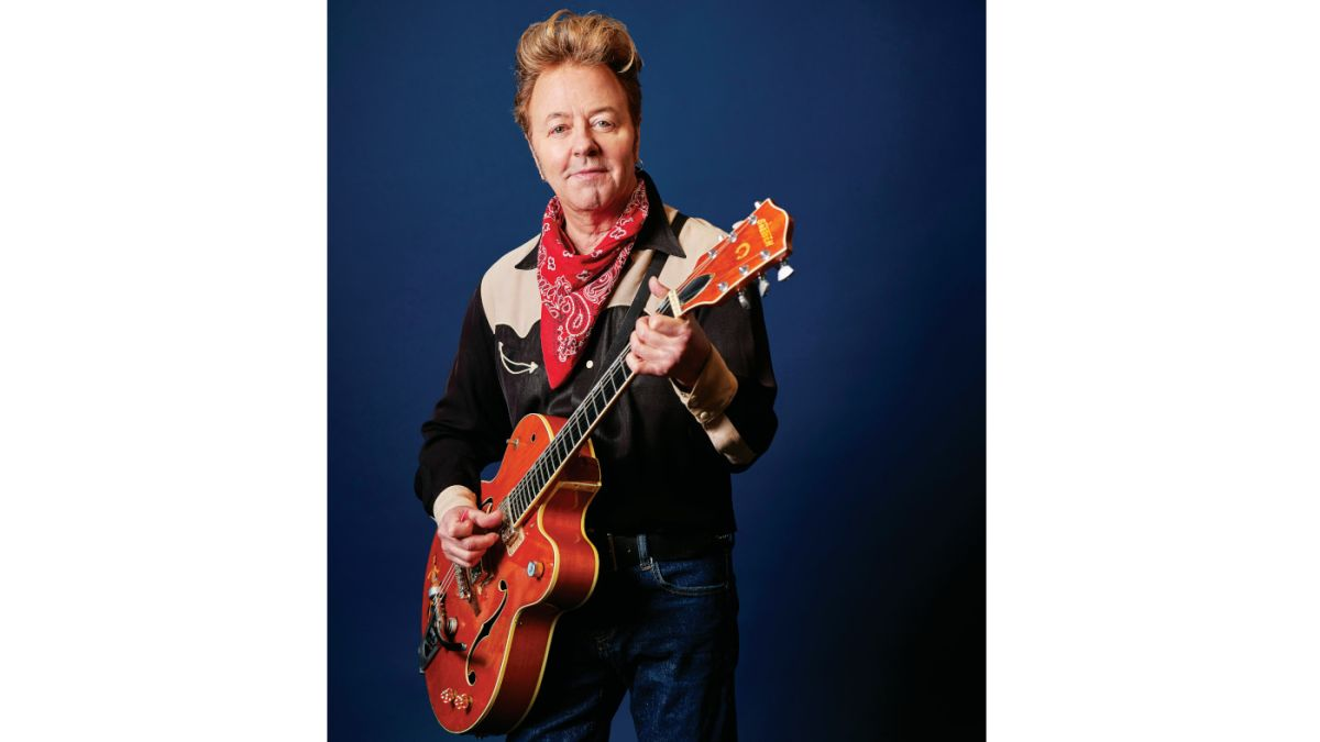"""Brian Setzer: """"It was a combination of balls and stupidity"""