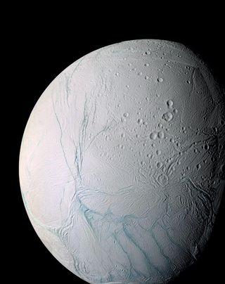 Saturn's Ocean Moon Enceladus