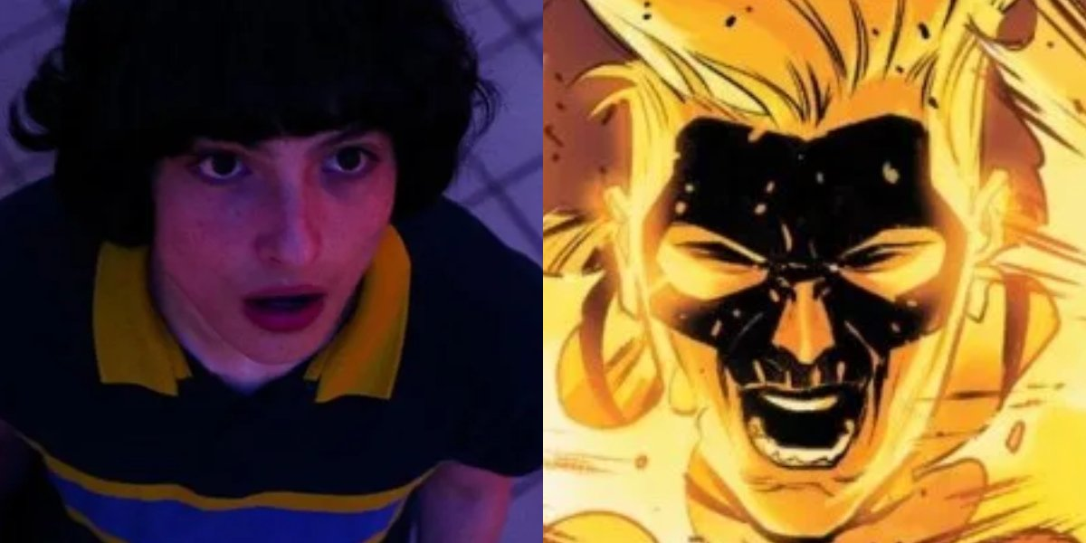 Stranger Things' Finn Wolfhard and Pyro from X-Men