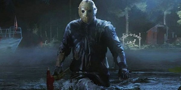 Jason with an ax Friday the 13th: The Game