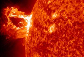 M1 solar flare