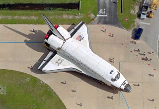 space history, NASA, Atlantis, OPF, VAB