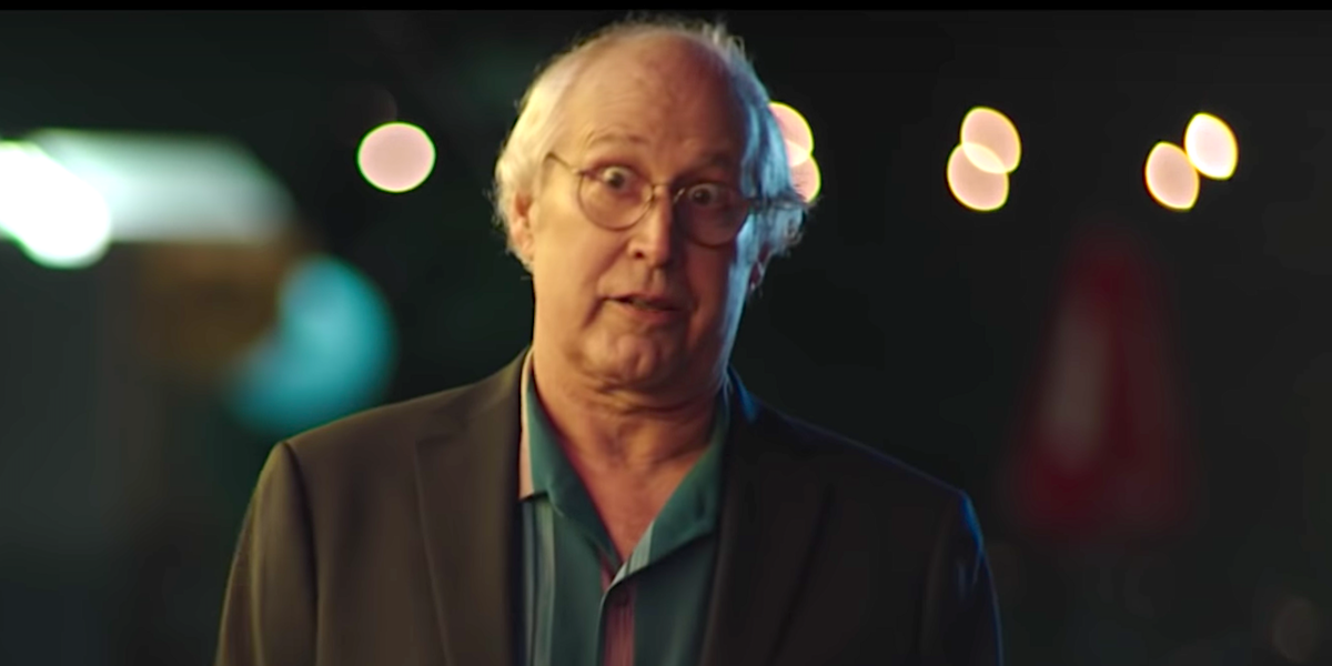 Chevy Chase in netflix's the last laugh