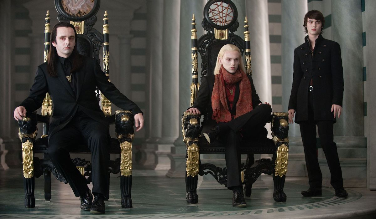 the Volturi in Twilight: New Moon