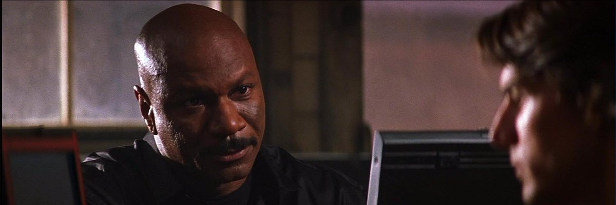 Ving Rhames and Tom Cruise in Mission: Impossible 2