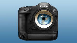 Canon EOS R3 eye control AF