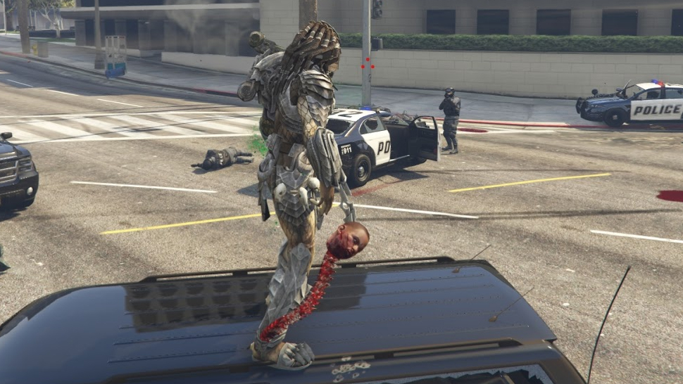JulioNIB's Predator mod for GTA 5 is faithful to the films