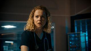 Amy Lennox plays Chloe Godard in Holby City