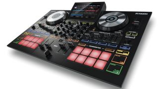 Reloop's Touch DJ controller lets you perform using a 7-inch