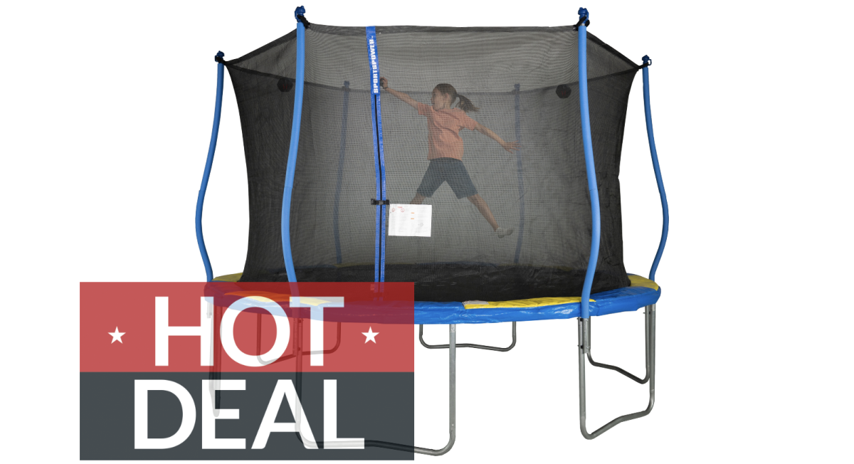 Save a whopping $160 on this Bounce Pro 12-foot trampoline at Walmart