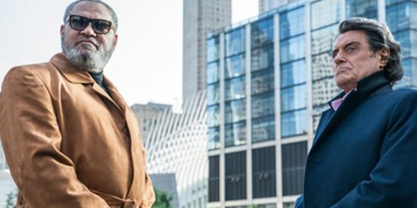 Laurence Fishburne and Ian McShane in in John Wick: Chapter 3 - Parabellum