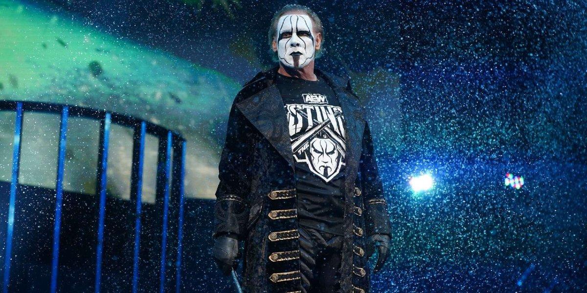 Sting in WWE