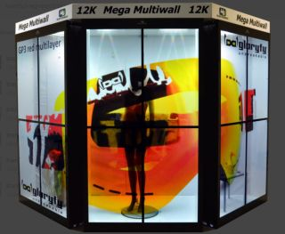 Userful and WG Electronic Transparent Video Walls