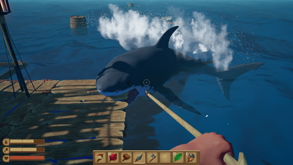 Seafaring survival game Raft is coming to Steam next month