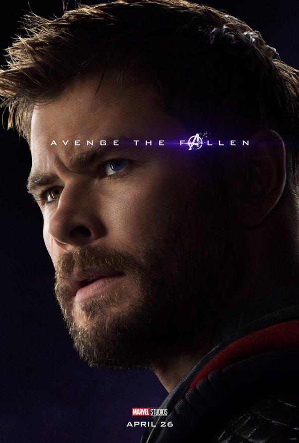 Thor official Endgame poster
