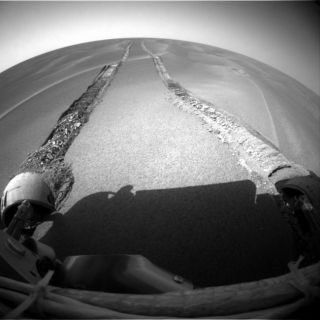 Opportunity Mars Rover Stuck in Sand