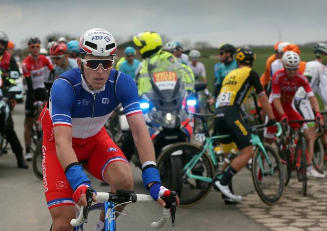 Arnaud Demare (Groupama-FDJ) stopped in Scheldeprijs