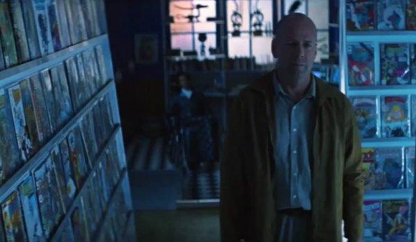 Bruce Willis Unbreakable David Dunn