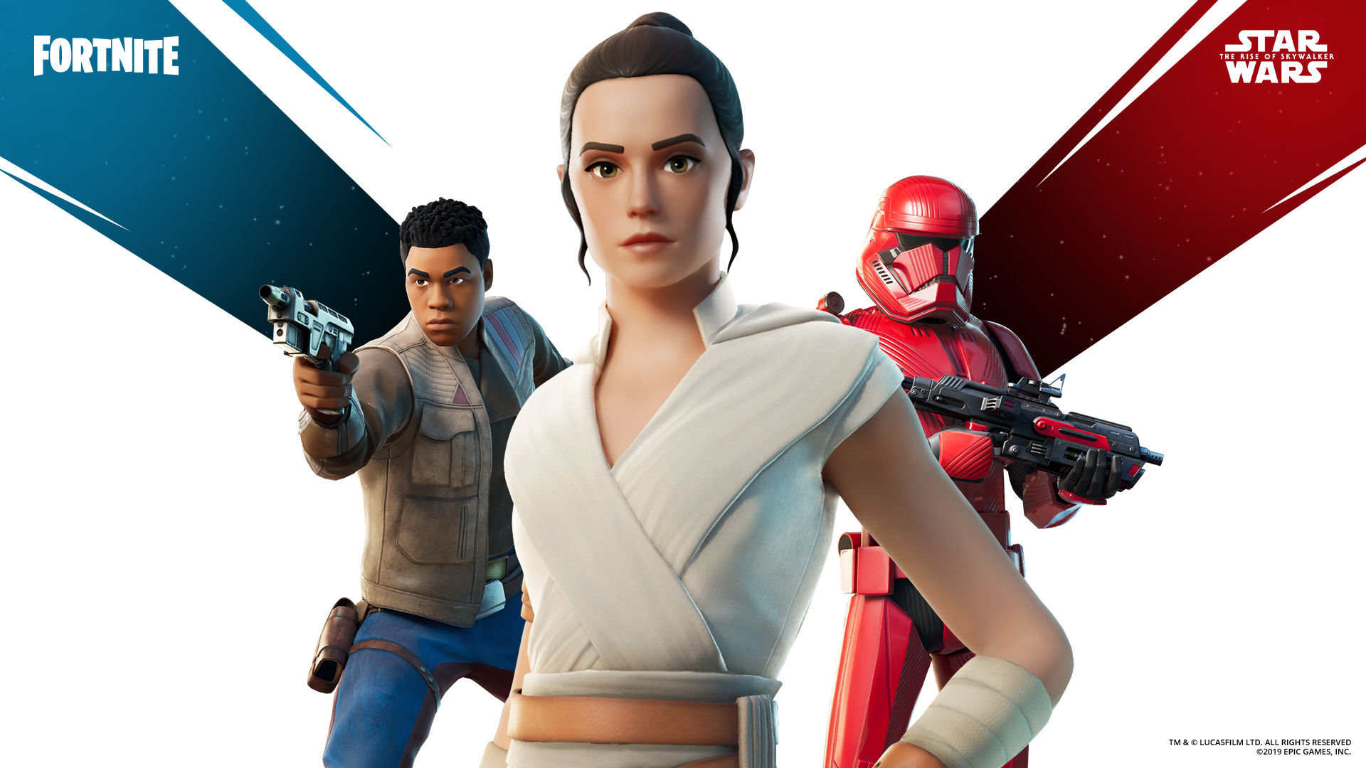 Here S Every Fortnite Star Wars Skin And Cosmetic You Can Get In The New Rise Of Skywalker Crossover Gamesradar