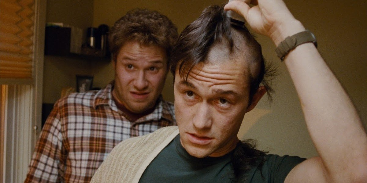 Seth Rogen and Joseph Gordon-Levitt in 50/50