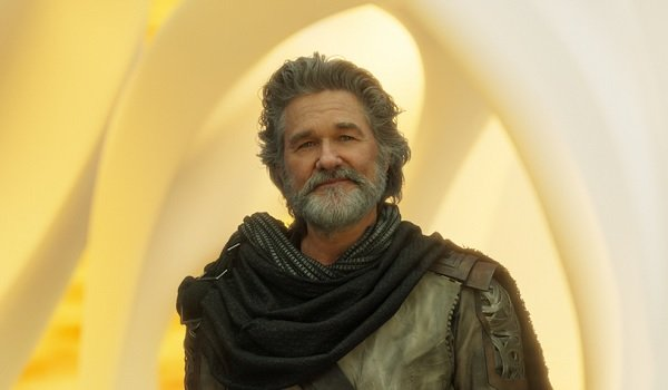 Guardians of the Galaxy Vol 2 Kurt Russell Ego's bearded smirk