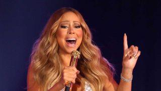 Mariah Carey onstage
