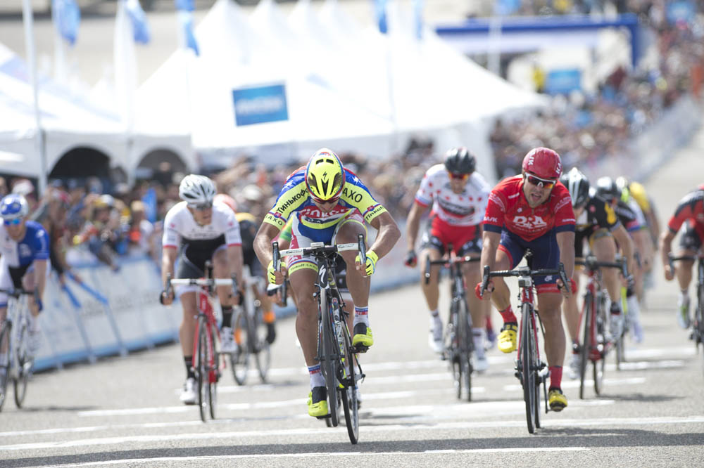 Cc oleg tinkov looking to cut peter sagan s salary after poor form