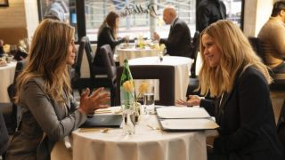 Jennifer Aniston and Reese Witherspoon in The Morning Show season 2