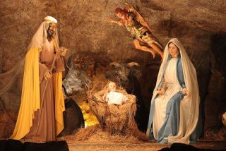 The Vatican's Christmas nativity