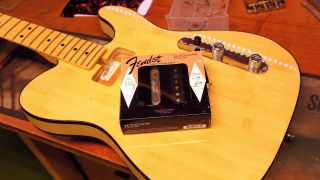 Guitar modding: how to change pickups on a Telecaster