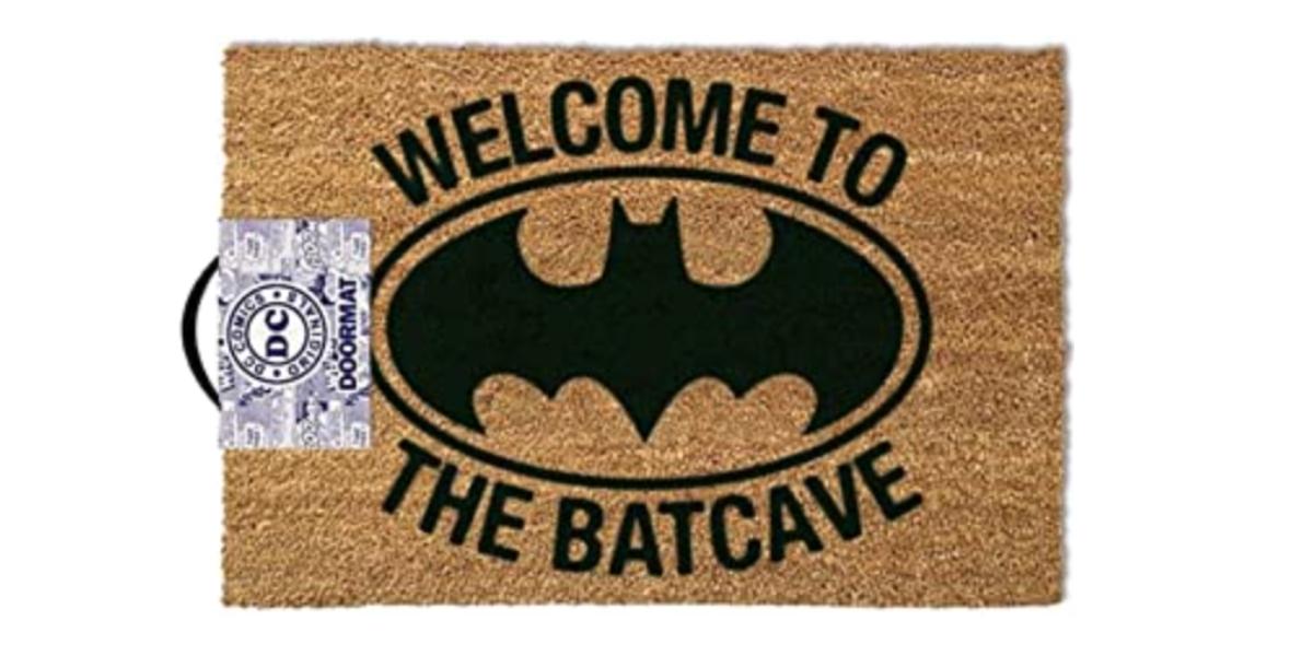 """Batman """"Welcome to the Batcave"""" Doormat"""