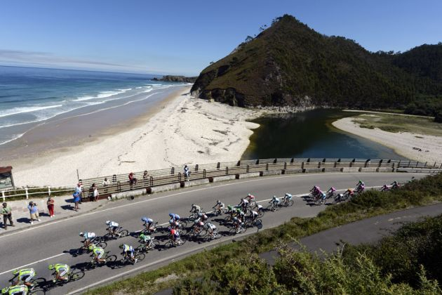 Beach, Vuelta a Espana 2013, stage 19