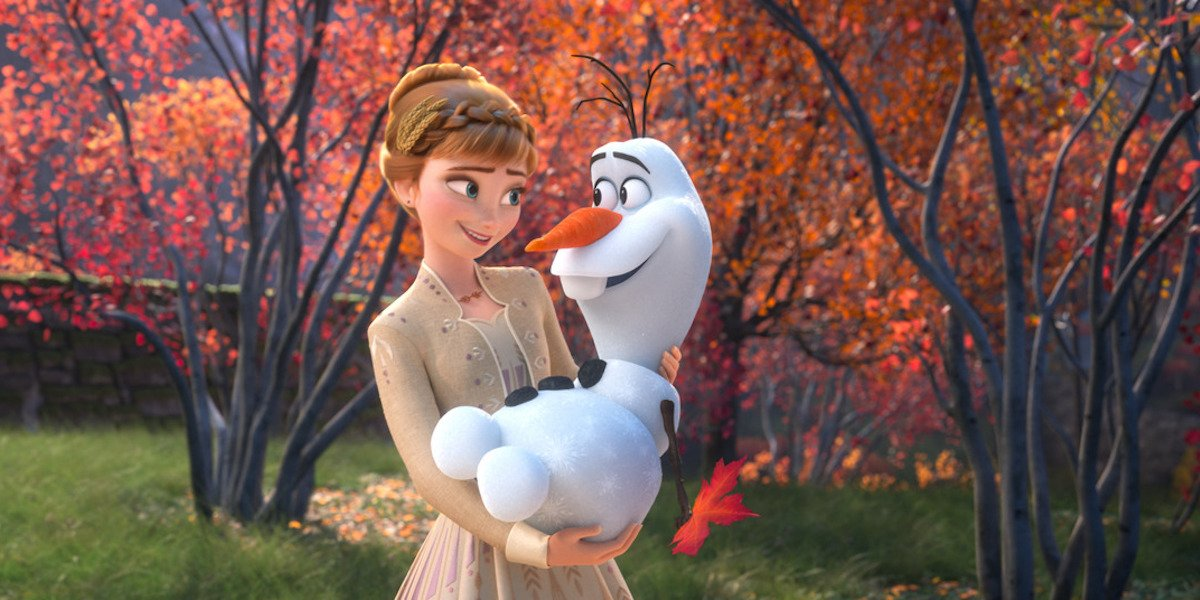 "Anna and Olaf in Frozen II, ""Some Things Never Change"""