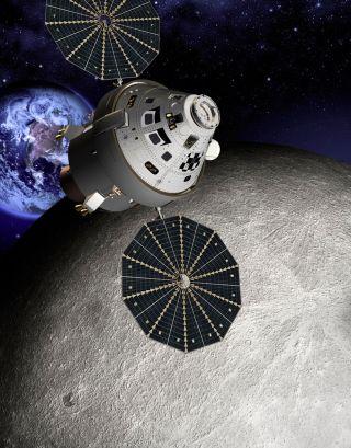 l2 Orion Moon Farside