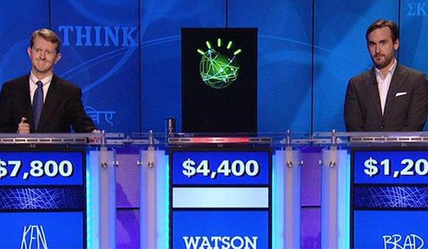 Ken Jennings, IBM's Watson, and Brad Rutter
