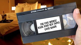 Video tapes of rock stars more intimate moments