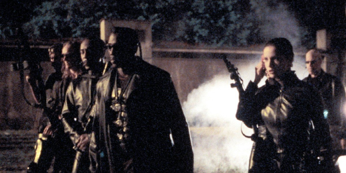 Blade and the crew