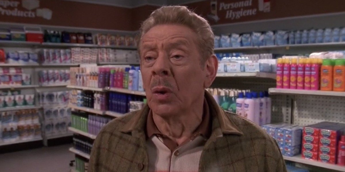 Jerry Stiller on The King of Queens